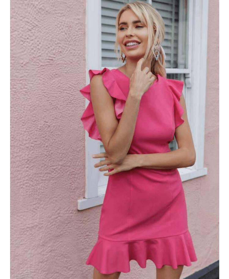 Lisette Sukienka Koktajlowa Różowa